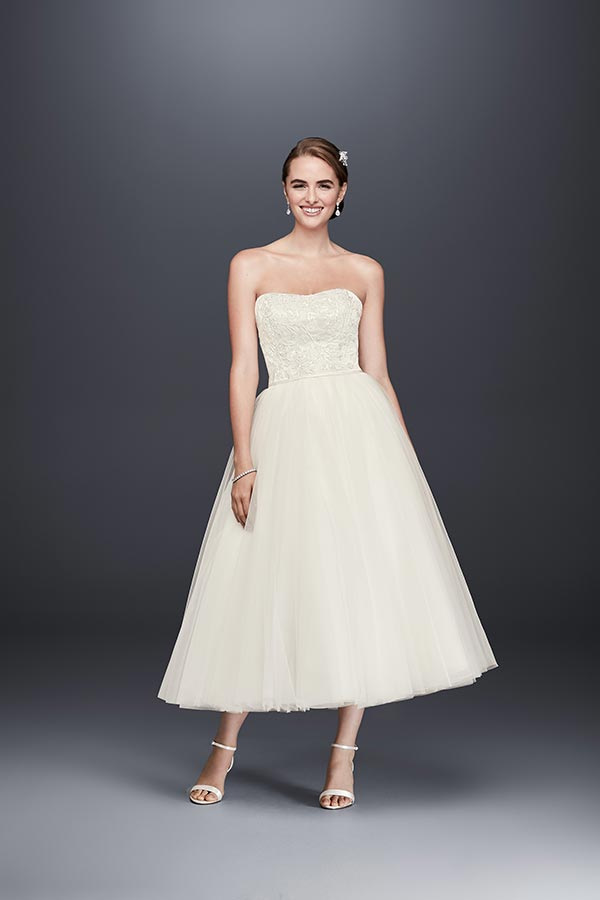4 Wedding Dress Trends We're Fully Embracing with David's Bridal #weddingdresses #elegantweddingdresses #traditionalbride