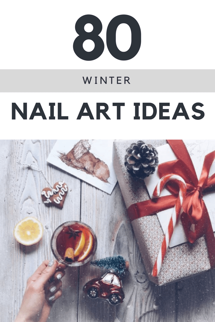 IDEAS-FOR-WINTER-NAIL-ART Winter Nail Art Ideas - 80 Best Nail Designs This Winter
