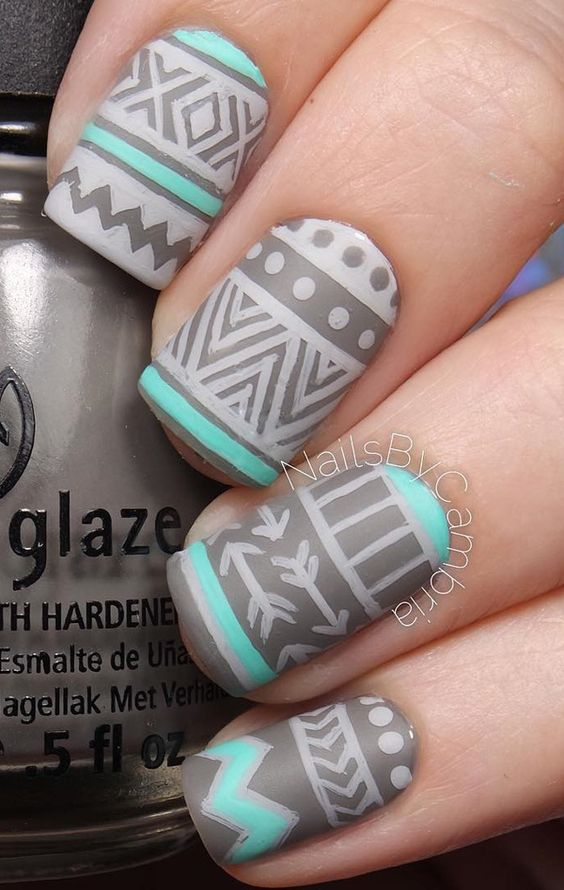 548c6b1d52603c26cbccb510ddcf098a Winter Nail Art Ideas - 80 Best Nail Designs This Winter