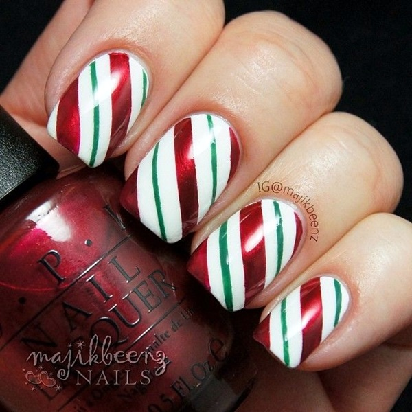 Winter-Nails-Designs-2015-37 Winter Nail Art Ideas - 80 Best Nail Designs This Winter