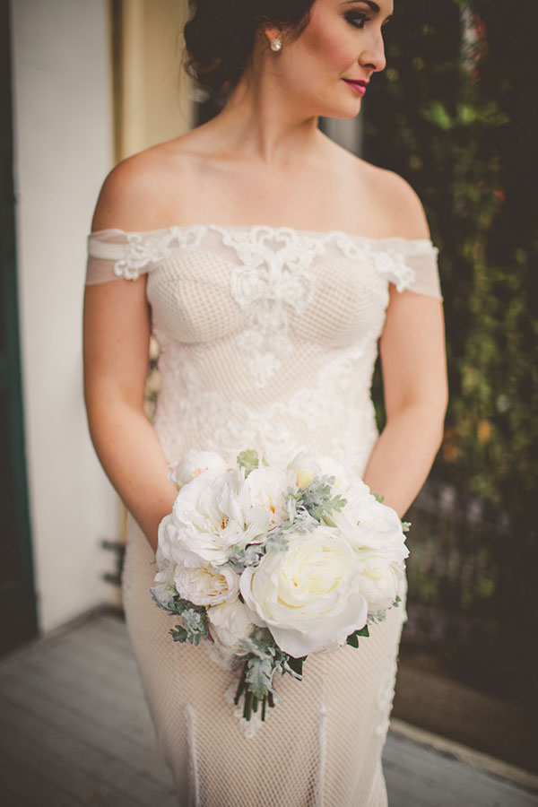 Intimate New Orleans Wedding Inspiration #nola #neworleanswedding