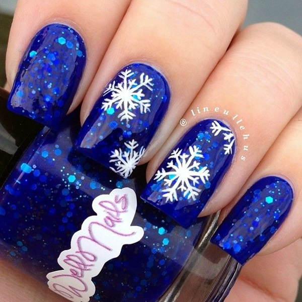 Winter-Nails-Designs-2015-11 Winter Nail Art Ideas - 80 Best Nail Designs This Winter