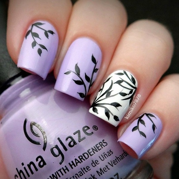 Winter-Nails-Designs-2015-6 Winter Nail Art Ideas - 80 Best Nail Designs This Winter