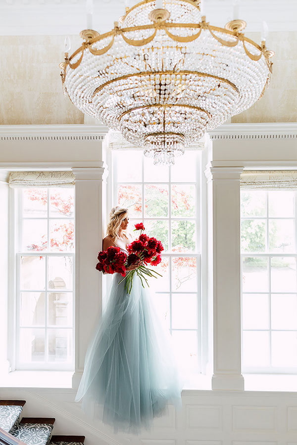 Fine Art Wedding with Bold Pops of Ruby #jeweltonedwedding #manorweddings #weddingdresses