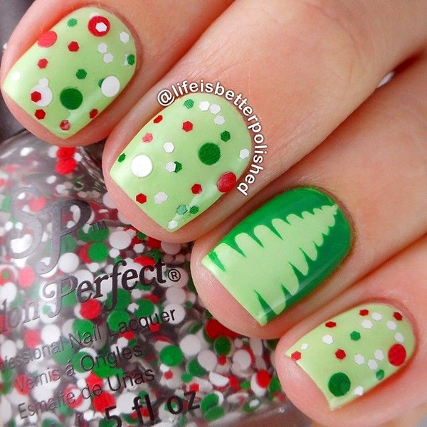 Winter-Nails-Designs-2015-17 Winter Nail Art Ideas - 80 Best Nail Designs This Winter