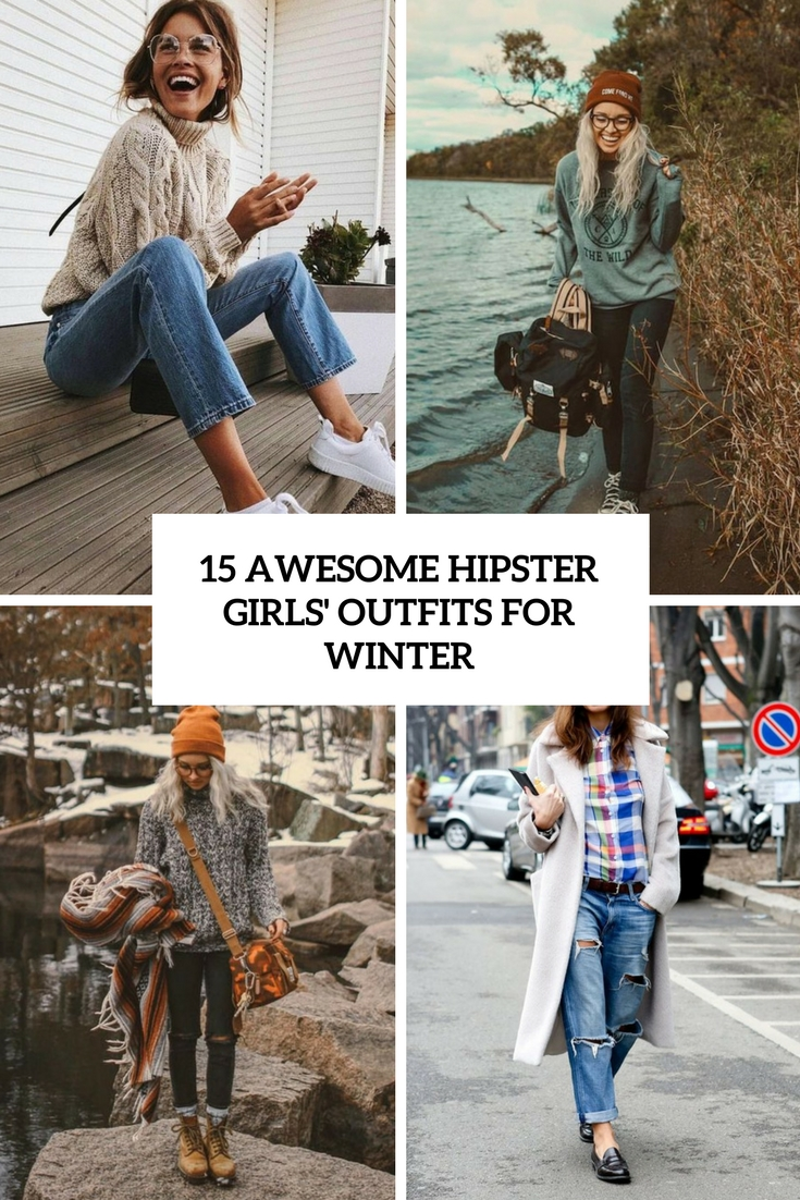 awesome hipster girls' outfits for winter cover