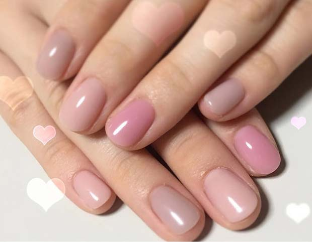 Soft Color Manicure for Simple Yet Eye-Catching Nail Designs