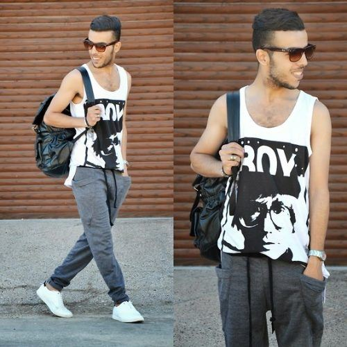 Super-Casual-Summer-Look-with-Sneakers-500x500 28 Best Ideas on How to Wear Converse Shoes for Guys