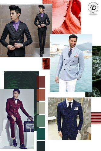 Double-Breasted-Apparel-for-Weddings-333x500 25 Ideas on How to Wear Double-Breasted Suits for Men