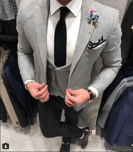Printed-Blazer-for-Formal-Wear-436x500 Guys Formal Style - 19 Best Formal Outfit Ideas for Men
