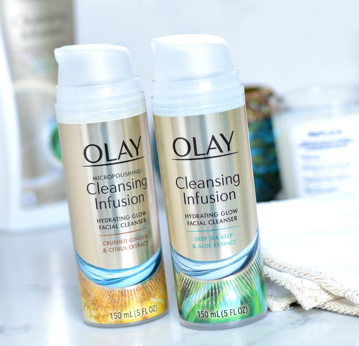 Olay Cleansing Infusions facial cleansers