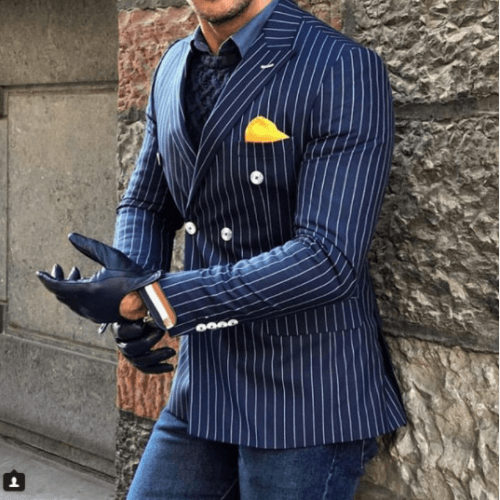 Stripes-for-Work-Wear-500x500 Guys Formal Style - 19 Best Formal Outfit Ideas for Men