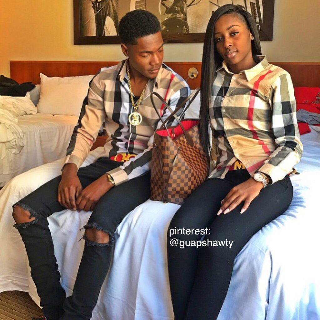 3b67ceee6966033d715d0b9dc07e116e-1-1024x1024 18 Cute Matching Outfits For Black Couples