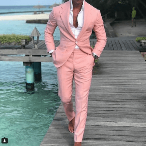 Mens-Pastel-Formal-Wear-500x500 Guys Formal Style - 19 Best Formal Outfit Ideas for Men