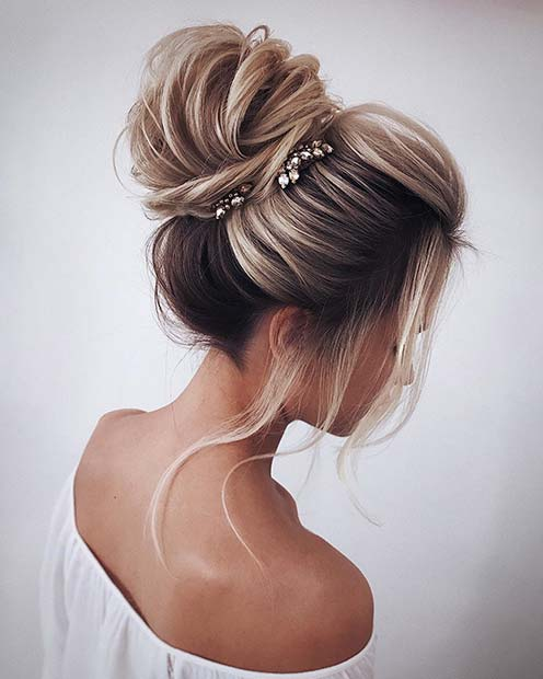 Elegant-High-Bun