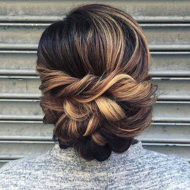 Updo-with-Large-Twists