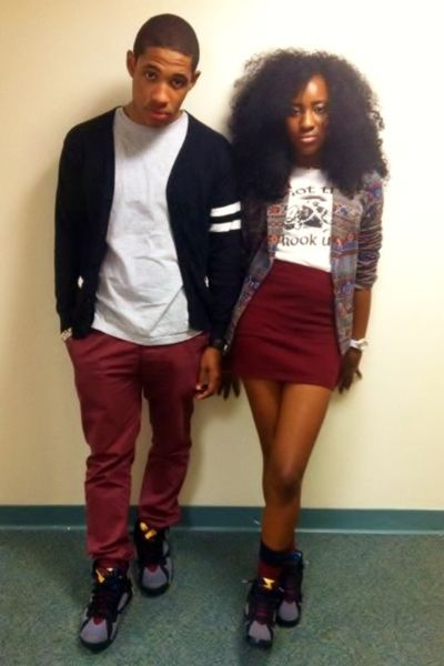 2a3d47455262ebae8b73dd37a439e043 18 Cute Matching Outfits For Black Couples