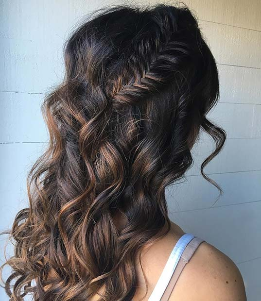 Fishtail-Braid-and-Loose-Curls