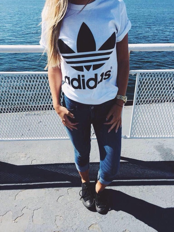 Girls 45 Most on Beauty Tumblr Outfits for Popular Adidas pZr6w0xZq