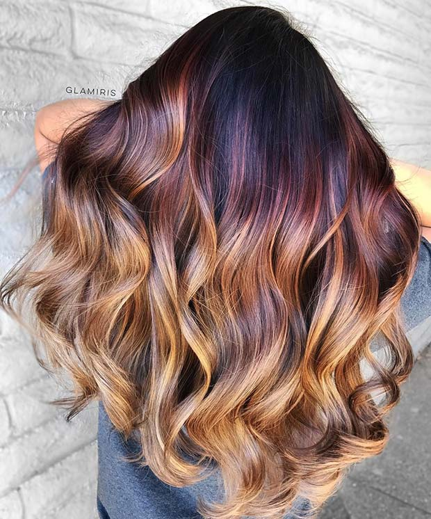 Purple-to-Blonde