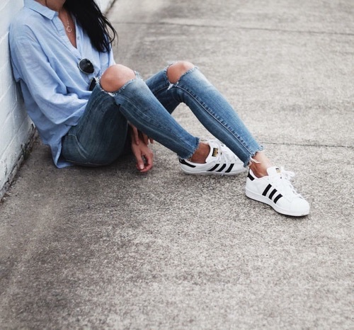 tumblr_o7h6gbrXlN1v7q527o1_500 45+ Most Popular Adidas Outfits on Tumblr for Girls