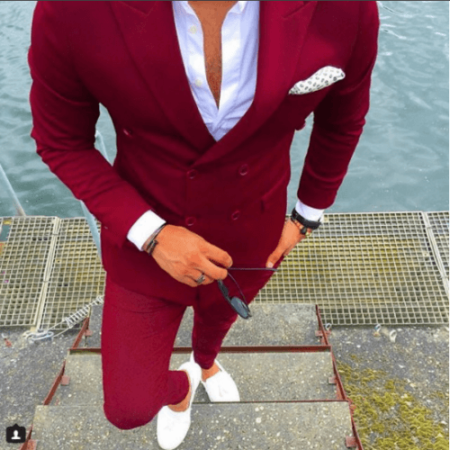 Bright-Colored-Formal-Ensemble-500x500 Guys Formal Style - 19 Best Formal Outfit Ideas for Men