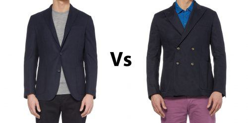 Single-Vs-Double-Breasted-Suits-500x248 25 Ideas on How to Wear Double-Breasted Suits for Men