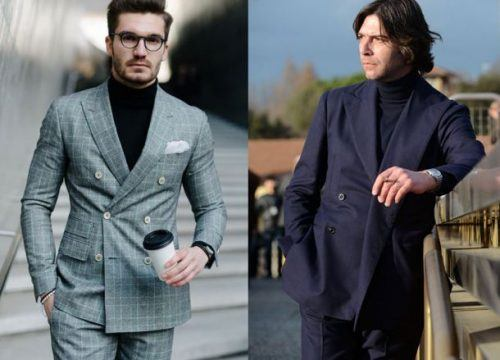 DB-Suits-for-Fall-500x360 25 Ideas on How to Wear Double-Breasted Suits for Men