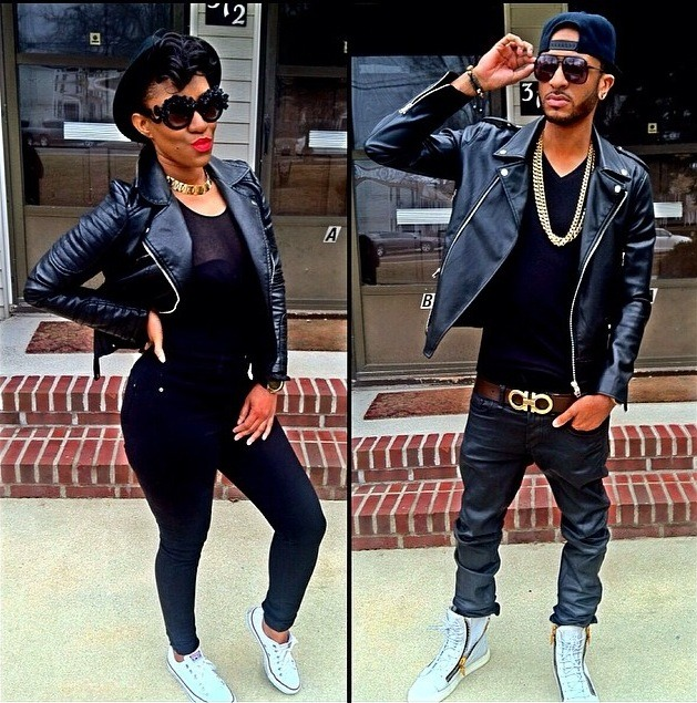 11c28f61c6917a1cfa8d4c70c740b2bd-1 18 Cute Matching Outfits For Black Couples