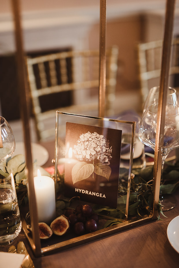 The tables were named after blooms