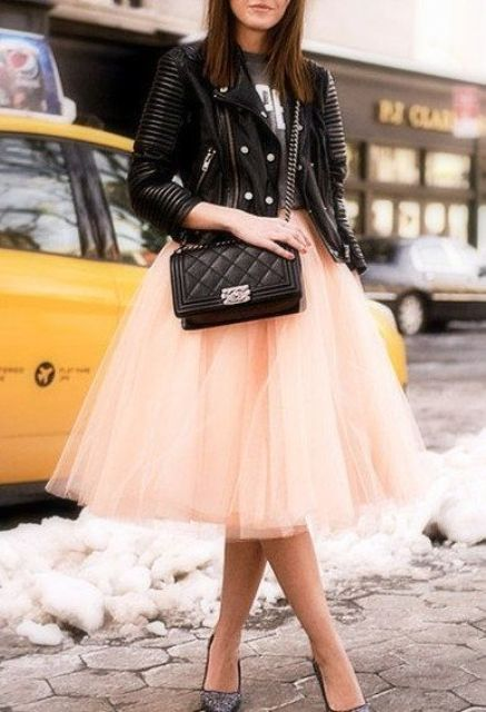such a gold blush tutu skirt isn't in trend now, put it off