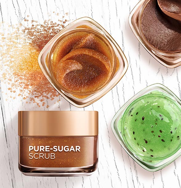 L'Oreal Pure Sugar Scrubs