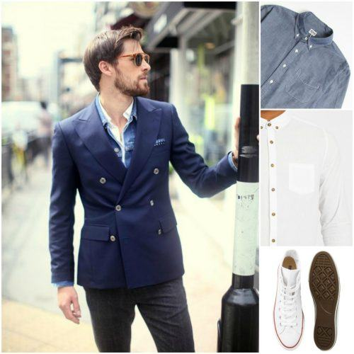 How-to-Wear-a-DB-Suit-Casually-500x500 25 Ideas on How to Wear Double-Breasted Suits for Men