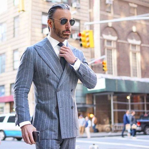 Italian-DB-Suits-500x500 25 Ideas on How to Wear Double-Breasted Suits for Men