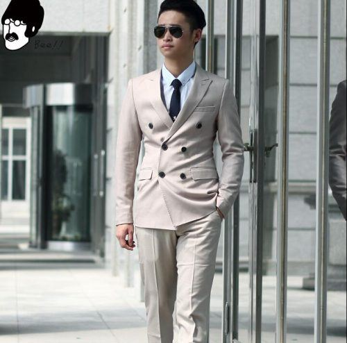 Vintage-Double-Breasted-Suits-500x494 25 Ideas on How to Wear Double-Breasted Suits for Men
