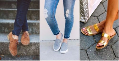 comfy-shoes-collage-500x259 26 Best Boating Outfit Ideas for Girls-What to Wear On a Boat