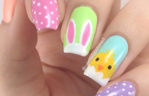 21 Cute Easter Nail Designs For 2018 Beauty