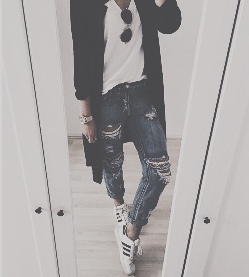 tumblr_o826pgwwNE1vw5r47o1_500 45+ Most Popular Adidas Outfits on Tumblr for Girls