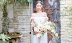 This wedding shoot was a botanical one, with a slight boho chic touch