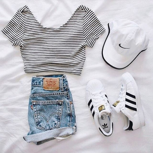 tumblr_o2qrxzYr2J1ueafuro1_500 45+ Most Popular Adidas Outfits on Tumblr for Girls