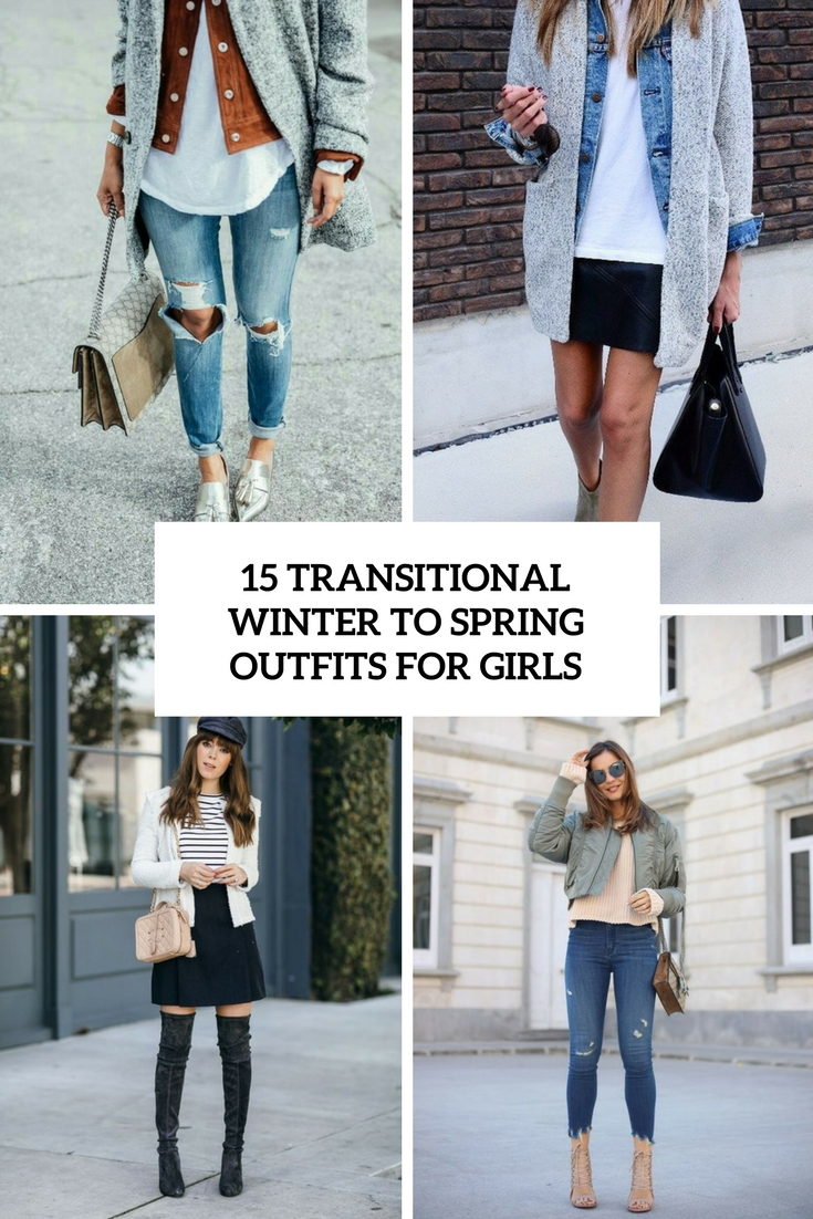 transitional winter to spring outfits for girls cover