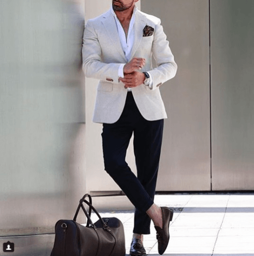 Monochrome-Formal-Attire-497x500 Guys Formal Style - 19 Best Formal Outfit Ideas for Men
