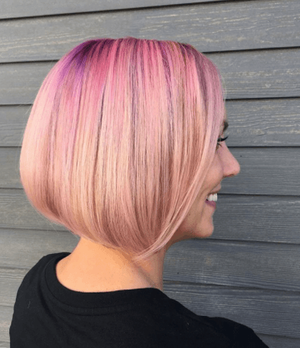 angled-bob 20 Best and Trending Bob Haircuts & Hairstyles for 2018