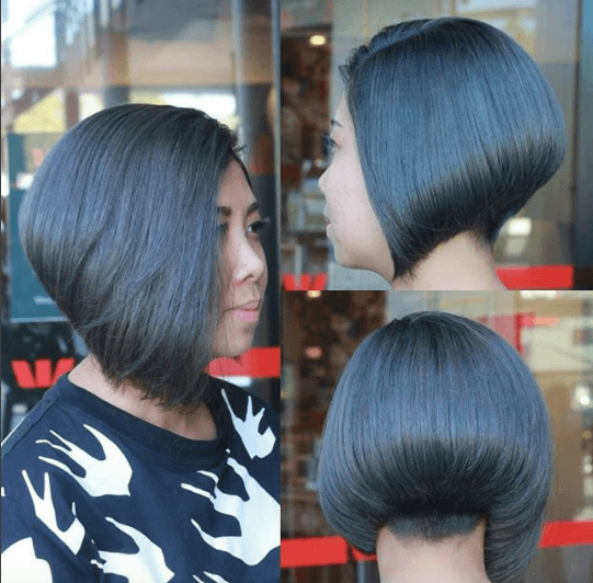 inverted-bob-hairstyle 20 Best and Trending Bob Haircuts & Hairstyles for 2018