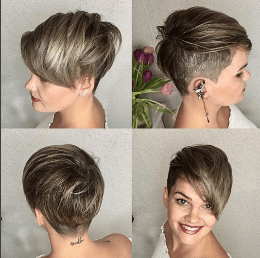undercut-bob-hairstyle 20 Best and Trending Bob Haircuts & Hairstyles for 2018
