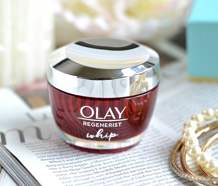 The NEW Olay Regenerist Whip moisturizer delivers the same hydration and anti-aging benefits as the original, but with a delightfully whipped and light-as-air matte finish formula that also perfectly preps your skin for makeup! It's like the unicorn of Moisturizers!