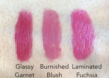 L'Oreal Colour Riche Shine Lipsticks swatches | These pigment-packed, glossy lipsticks are such a delightfully hydrating treat for winter-worn dry lips!