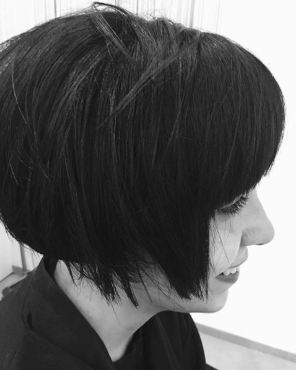 bob-with-heavy-bangs 20 Best and Trending Bob Haircuts & Hairstyles for 2018