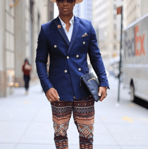 How-to-Wear-a-DB-in-Boho-Style-498x500 25 Ideas on How to Wear Double-Breasted Suits for Men