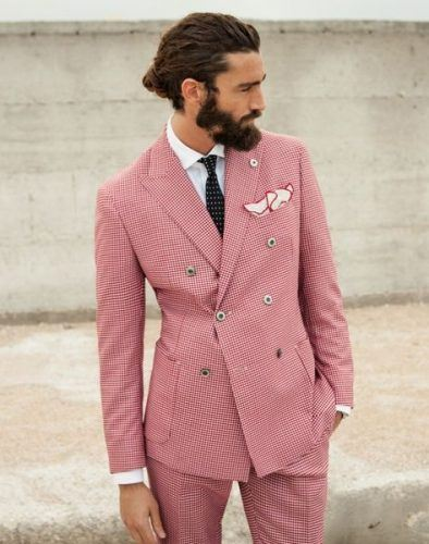 Accessorize-a-Double-Breasted-Suit-394x500 25 Ideas on How to Wear Double-Breasted Suits for Men
